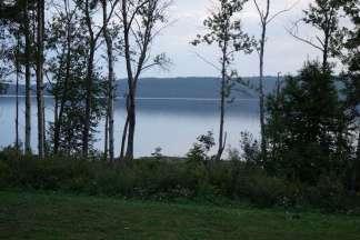 Le joli lac Matapédia, vu du chalet