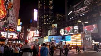 TIme Square de nuit