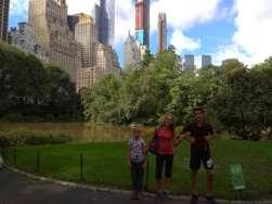 Entrée dans Central Park
