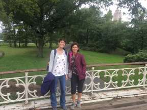Retrouvailles à Central Park