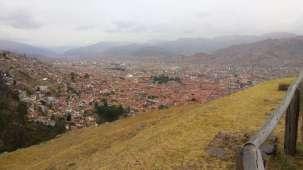 Cuzco entourée de ses montagnes