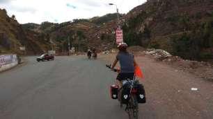 Montée sur les collines de Cuzco