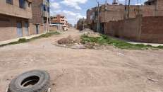 Une rue typique de Juliaca
