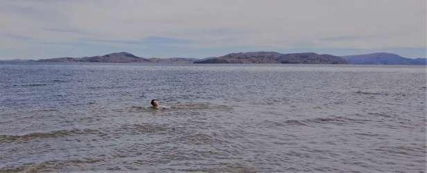 Y'en a au moins un qui se sera baigné dans le Titicaca...