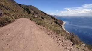 La piste pour aller à Pusi, magnifique et peu fréquentée