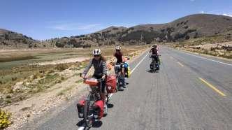 Premiers km en Bolivie