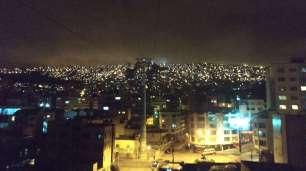 En remontant à El Alto, à nouveau un magnifique spectacle