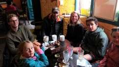 Avec Gaël, Tom et Tristan, à Potosi