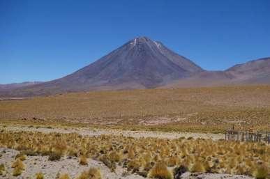 Le Licancabur, ce volcan magnifique qui nous accompagne pendant plusieurs jours