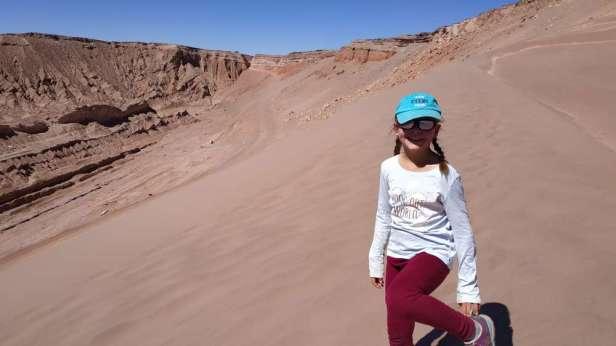 Course en descente dans les dunes !