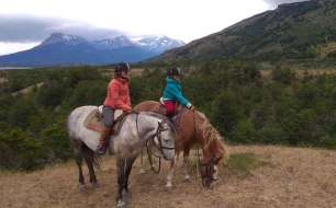 A cheval en Patagonie