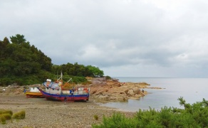Nous traversons des villages de pêcheurs