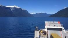 Traversée en ferry dans un superbe fjord