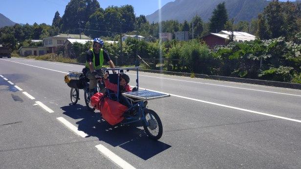 Diego et Jasmine en route pour le sud