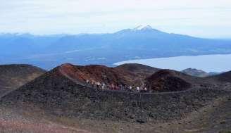 Ici près du volcan Osorno