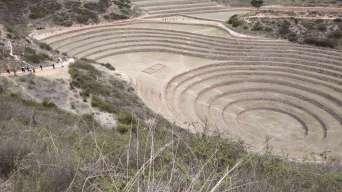 Les terrasses expérimentales incas