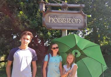 Arrivée à Hobbiton