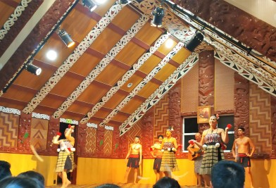 Spectacle de danse maorie