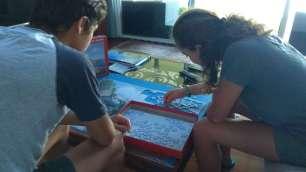Quel plaisir de se pencher avec calme sur un puzzle !