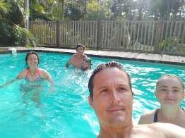 Petite pause bien agréable chez Scott et Jo-Roxy