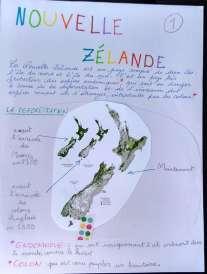 Exposé sur la Nouvelle-Zélande envoyé à ma classe