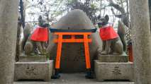 Temple dédié à la divinité Inari