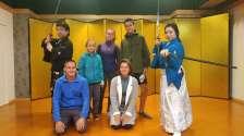 Nous en apprenons un peu plus sur l'histoire du pays, notamment pendant l'ère Edo, ère des samouraïs...