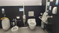 Et les légendaires toilettes japonaises, tout un poème !
