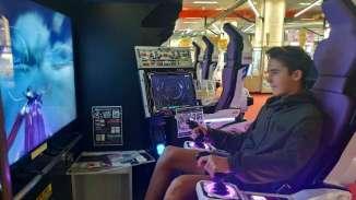 On ne pouvait pas visiter le Japon avec des ados sans entrer dans une salle de jeu (les pashinkos sont interdits au moins de 18 ans)