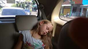 Arrivée à Bangkok, quelque peu épuisés