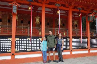 Nous visitons des temples