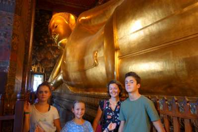 Le fameux bouddha allongé