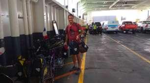 Ferry pour le retour vers la terre ferme, vers Surat Thani