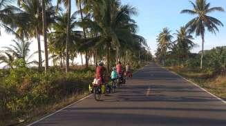 Sur la route, du côté de Songhkla