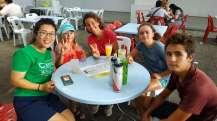 Avec Yuki, warmshoweuse cino-malaisienne (non-cycliste !) qui nous accueille pour un soir