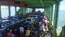 Traversée en bateau jusqu'à l'île de Penang