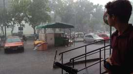 Nous arrivons dans la saison des moussons. Rien à voir avec une pluie bretonne ;-)