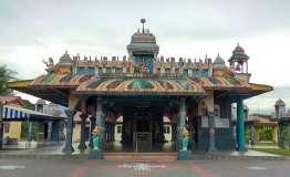 Des temples hindous aussi, très colorés