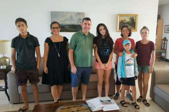 Avec la famille Buisson, des hôtes formidables