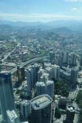 Nous visitons Kuala Lumpur, ville très agréable