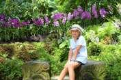 ... et son jardin des orchidées