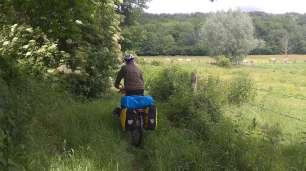 Nous retrouvons les petits sentiers bien verts