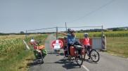 Quelques kilomètres avant le clap de fin, nous tombons sur un sens interdit qui nous vaut un détour de plusieurs kilomètres... Un signe ?