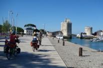 Nous avons d'ailleurs le droit à une visite guidée de la ville de la Rochelle par Alain